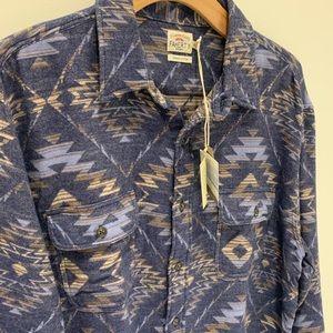 "Faherty Flannel ""Canyon Overshirt"""